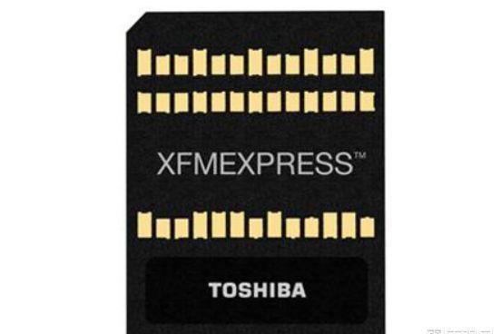 东芝发布XFMEXPRESS超高速便携存储卡:媲美高端NVMe M.2 SSD固态硬-1