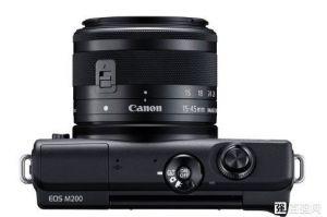 佳能发布EOS M200相机:打时尚女性用户-3