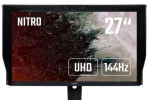 宏碁推出新款27英寸显示器:支持FreeSync/G-Sync