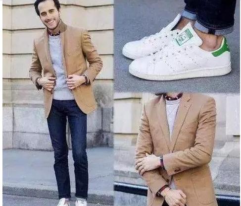阿迪达斯小白鞋该怎样搭配,怎么搭配才有范儿-1