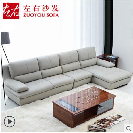 左右真皮沙发能满足使用吗?-1