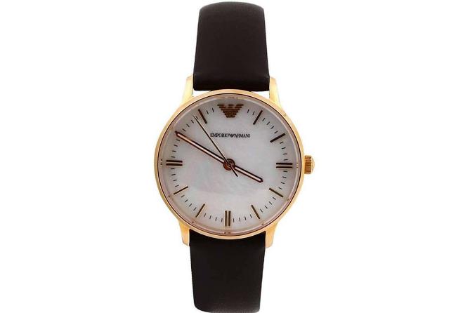 阿玛尼手表有石英表吗?阿玛尼 Armani 贝母石英表多少价位?-1