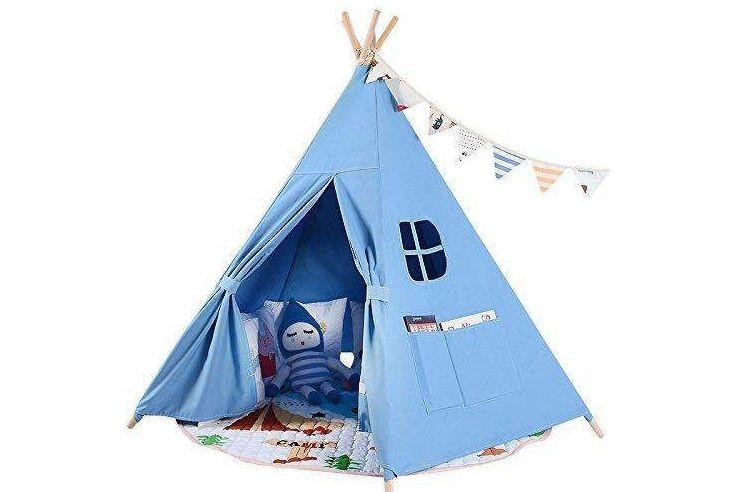 乐昂帐篷如何?适合小孩子玩吗?-1