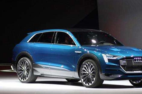 奥迪量产全电动SUV,据说续航能力达到500公里-1