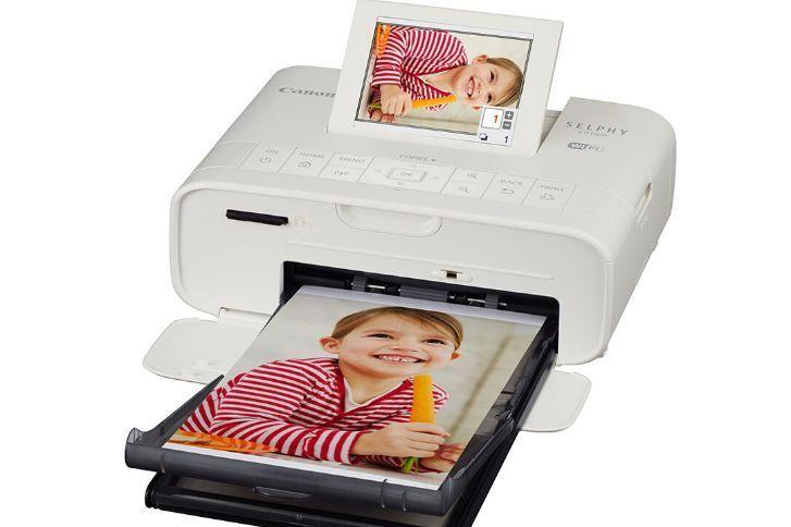cp1300怎么拼图打印?佳能照片打印机cp1300使用教程?-1