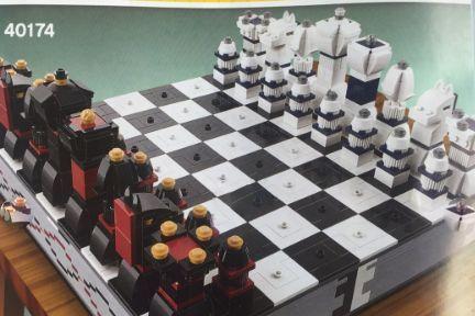 乐高的40174国际象棋是什么样的?谁能介绍一下?-1