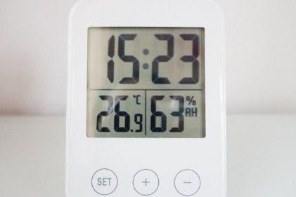 宜家的湿度计还带时钟?方便吗?-1