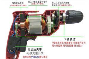 手电钻在日常生活中的用途和使用注意事项-2