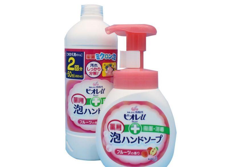 花王泡沫洗手液是免洗的吗?是水果香味吗?-1