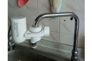 东丽水龙头净水器安装?操作简单吗?-1