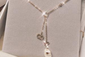 dior珍珠项链价格?dior珍珠项链图片?