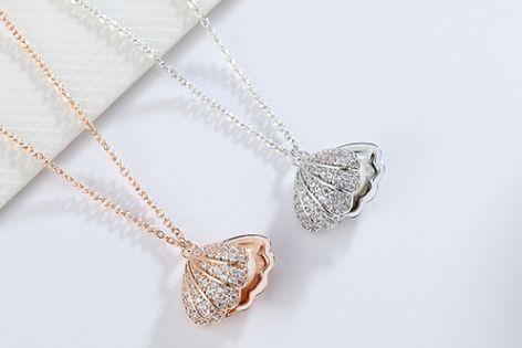 chomel项链是什么材质?chomel项链有珍珠的吗?-1