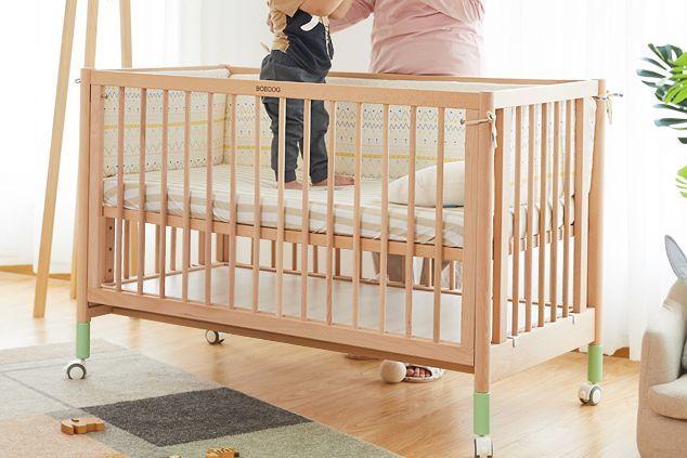 婴儿床有水漆好吗?谁能推荐一款颜值高的?-1