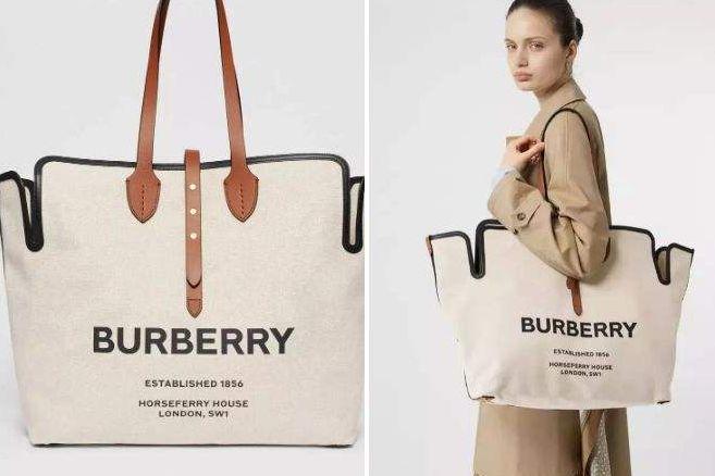 burberry帆布包尺寸?burberry帆布包大概多少钱?-1