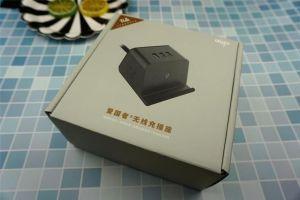 爱国者无线充插座开箱分享:双组合孔+3USB,无线充是亮点-1