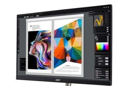 宏碁上架ConceptD显示器:采用了IPS面板-1