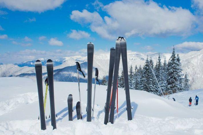 冬季滑雪好助手 滑雪杖你值得拥有-1