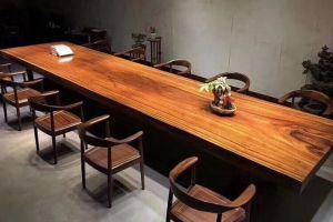 实木大板桌有什么优点 实木大板桌选购攻略-3