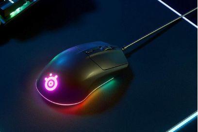 赛睿推出Rival 3鼠标:加入RGB环形灯带-1