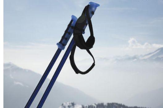 对于初学滑雪者而言,滑雪杖是用来干什么的-1