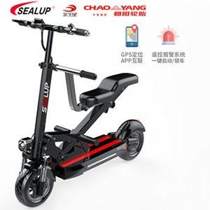 希洛普 亲子车 电动滑板车成年人迷你折叠电动车代步车小型电瓶车