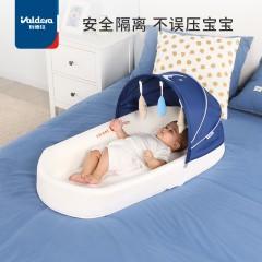 便携式床中床宝宝婴儿床可折叠新生儿睡床可移动仿生bb床上床防压