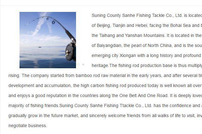 外贸鱼竿出口商-1