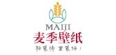 maiji绣花墙布