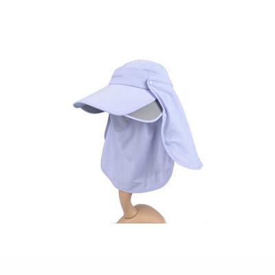 遮脸防晒帽